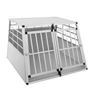 """VOSS.PET Hundebox """"Marley"""" Qualitäts-Transportbox XXL, 104x91x69cm + Doppeltür"""