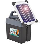 """VOSS.farming """"AURES 3 SOLAR"""" Weidezaungerät + Batterie + 6W-Solar"""