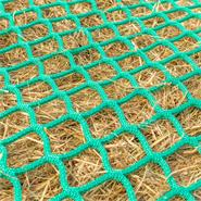 """VOSS.farming Futtersparnetz """"rund"""" für Heu-Rundballen - Ø 2,50m, Maschenweite 4,5x4,5cm"""