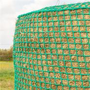 VOSS.farming Rundballennetz, Heunetz für Rundballen - 1,60x1,60m, Maschenweite 4,5x4,5cm