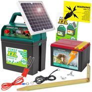 """Weidezaungerät 9V """"Power XXL B 9000-S"""" + 5W SOLAR + Batterie"""