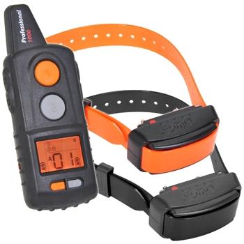 "DogTrace ""D-Control professional 1002"" Ferntrainer (Impuls + Vibration + Ton) - 2er Set"
