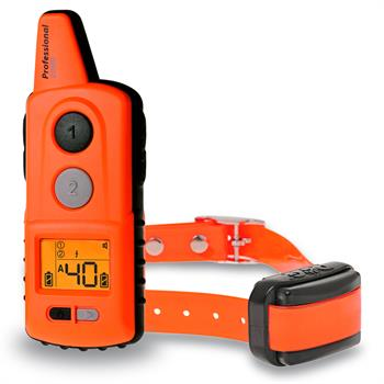 DogTrace D-Control professional 2000 - Hunde-Ferntrainer für Profis 2000 m, orange