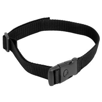 Nylon Halsband, DogTrace + PetSafe + Canicom, schwarz