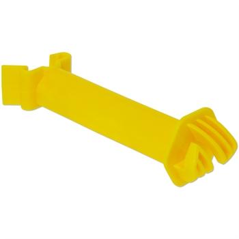 25x Abstandsisolator für Festzaunsystem, gelb