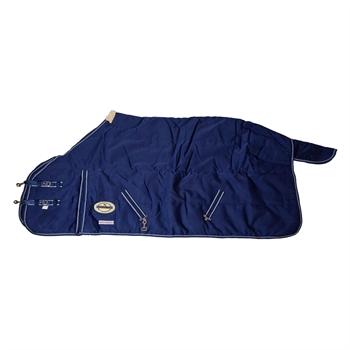 Pferdedecke Winter Thermo-Stalldecke für Profis, blau, Größe 155, wasserabweisend