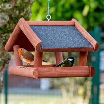 """VOSS.garden """"Tilda"""" - hochwertiges Vogelhaus aus Holz, zum Aufhängen"""