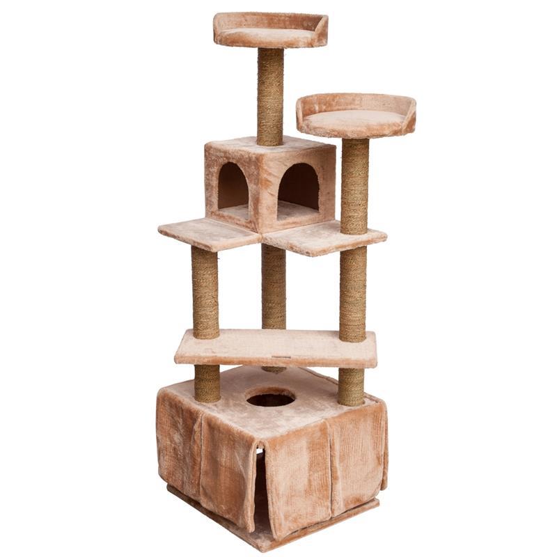 voss pet kratzbaum anneke luxus katzenkratzbaum. Black Bedroom Furniture Sets. Home Design Ideas