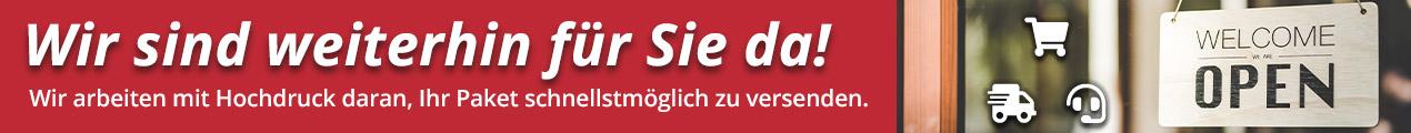 COVID-19: Weidezaun-Shop.ch ist weiter für Sie da