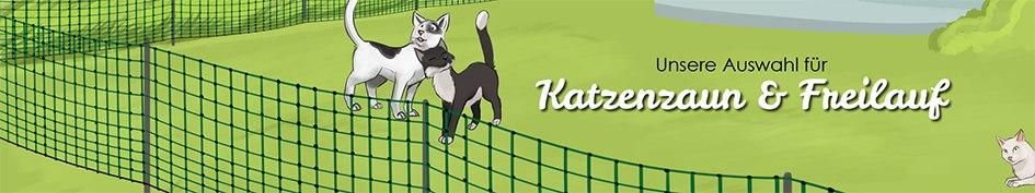 Katzenzaun & Freilauf