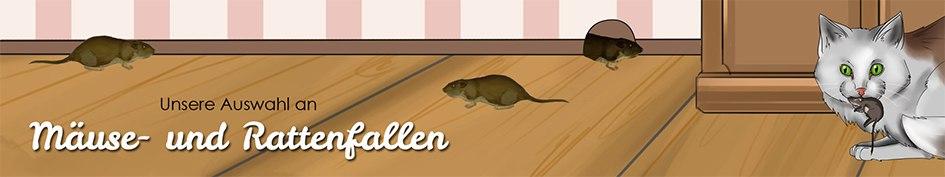 Mäuse- und Rattenfallen/ Abwehr