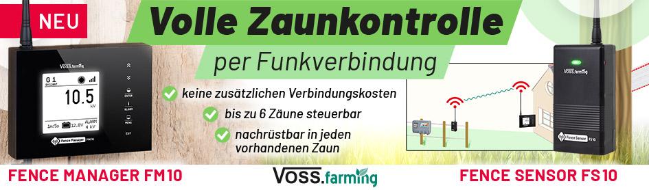 Volle Zaunkontrolle - Fence Manager und Sensor