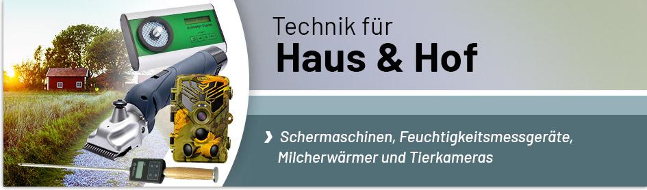 Technik für Haus & Hof